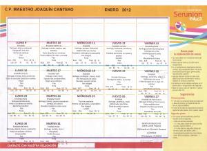 menu enero 2012